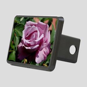 Purple Rose Rectangular Hitch Cover