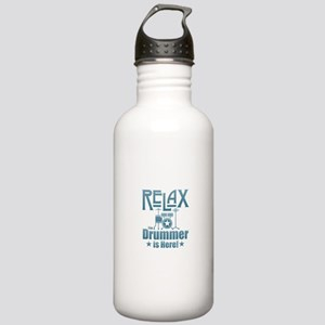 Relax The Drummer is H Stainless Water Bottle 1.0L