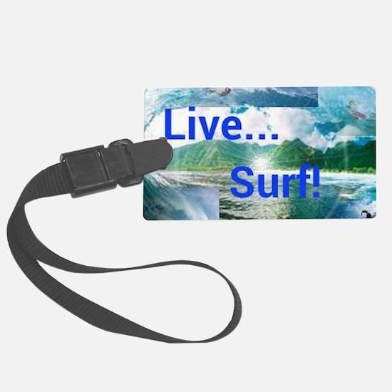 Surf Luggage Tag