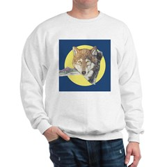 Timber Wolf Design Sweatshirt