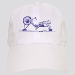 Ergometer rowing sketch Cap