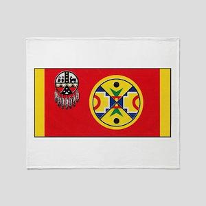 Aroostook Band Micmac Throw Blanket