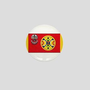 Aroostook Band Micmac Mini Button