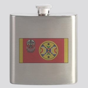 Aroostook Band Micmac Flask