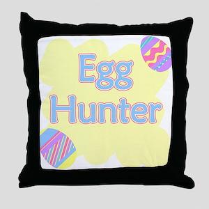 Egg Hunter Throw Pillow
