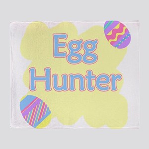 Egg Hunter Throw Blanket