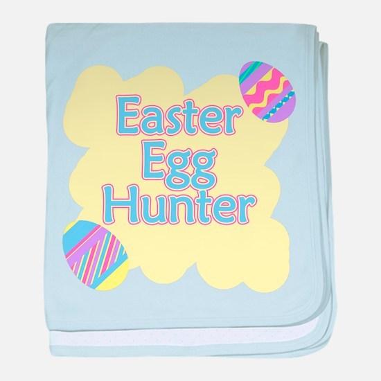 Easter Egg Hunter baby blanket
