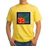 Midnight Rose Yellow T-Shirt