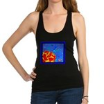 Midnight Rose Racerback Tank Top
