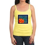 Midnight Rose Jr. Spaghetti Tank