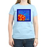 Midnight Rose Women's Light T-Shirt