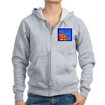 Midnight Rose Women's Zip Hoodie