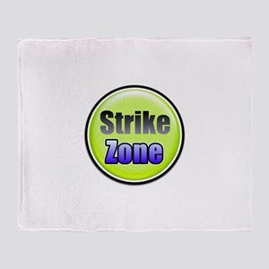 Strike Zone Throw Blanket