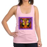Psychedelic Butterfly Racerback Tank Top