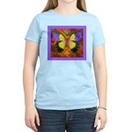 Psychedelic Butterfly Women's Light T-Shirt