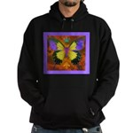 Psychedelic Butterfly Hoodie (dark)