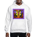 Psychedelic Butterfly Hooded Sweatshirt