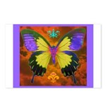 Psychedelic Butterfly Postcards (Package of 8)