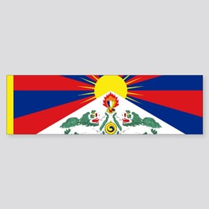 Tibet flag Bumper Sticker