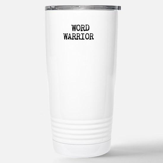 WORD WARRIOR Travel Mug