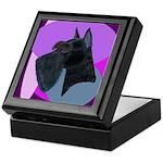 Giant Schnauzer Design Keepsake Box