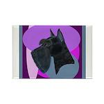 Giant Schnauzer Design Rectangle Magnet (100 pack)