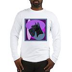 Giant Schnauzer Design Long Sleeve T-Shirt