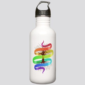Rainbow Ribbon Stainless Water Bottle 1.0L