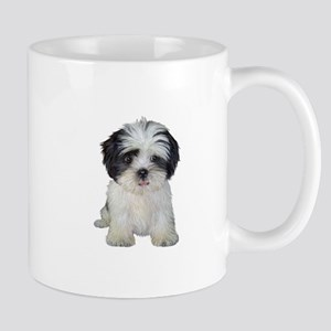 Shih Tzu (bw) pup Mug