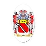 Ford {Scotland} Oval Car Magnet