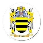 Forcia Round Car Magnet