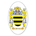 Forcia Sticker (Oval 50 pk)