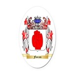 Foran Oval Car Magnet
