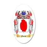 Foran 35x21 Oval Wall Decal