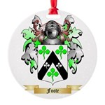 Foote Round Ornament