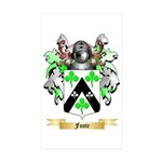 Foote Sticker (Rectangle 50 pk)
