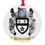 Fooley Round Ornament