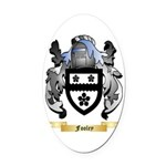 Fooley Oval Car Magnet