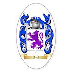 Fool Sticker (Oval 50 pk)