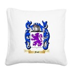 Fool Square Canvas Pillow