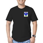Fontes Men's Fitted T-Shirt (dark)
