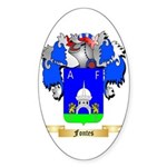 Fontes Sticker (Oval 50 pk)
