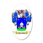 Fontelles 35x21 Oval Wall Decal