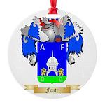 Fonte Round Ornament