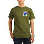 Font Organic Men's T-Shirt (dark)