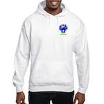 Font Hooded Sweatshirt