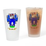 Font Drinking Glass
