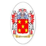 Fonseque Sticker (Oval 50 pk)