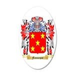 Fonseque 35x21 Oval Wall Decal