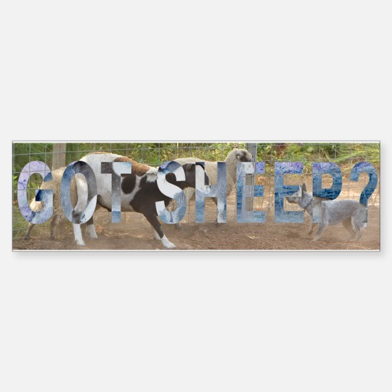 GOT SHEEP? Bumper Bumper Bumper Sticker